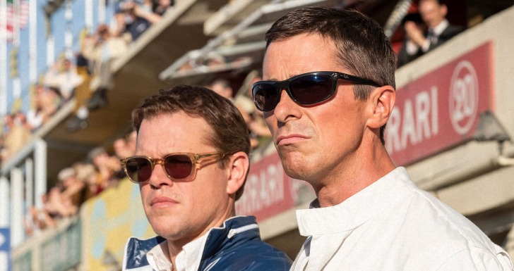Ford V Ferrari Matt Damon Christian Bale Le Man'66