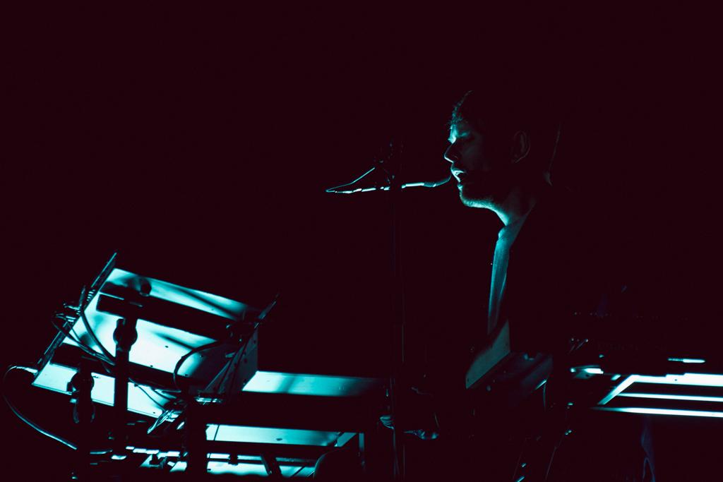 James Blake no Nos Primavera Sound 2019