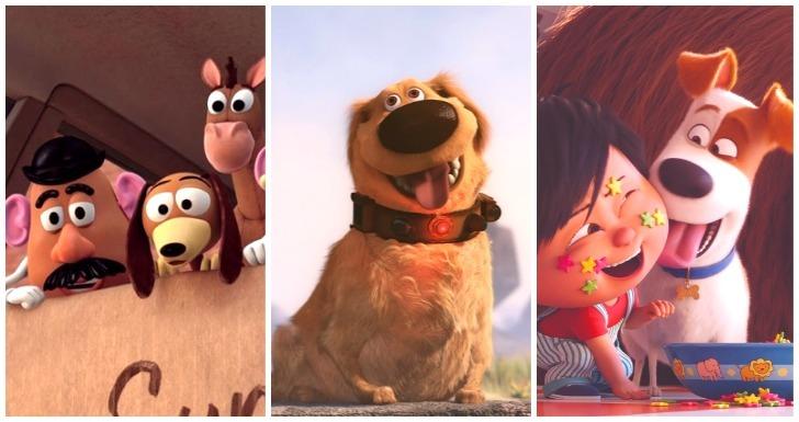 Melhores Cães do Cinema Animado