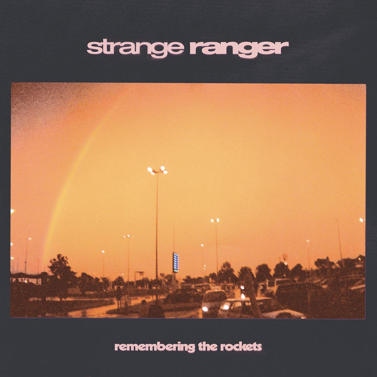Strange Ranger - Capa de Remembering the Rockets - Living Free