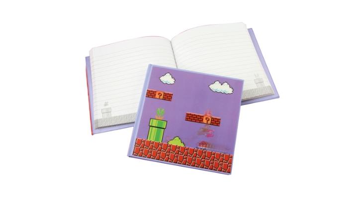caderno super mario