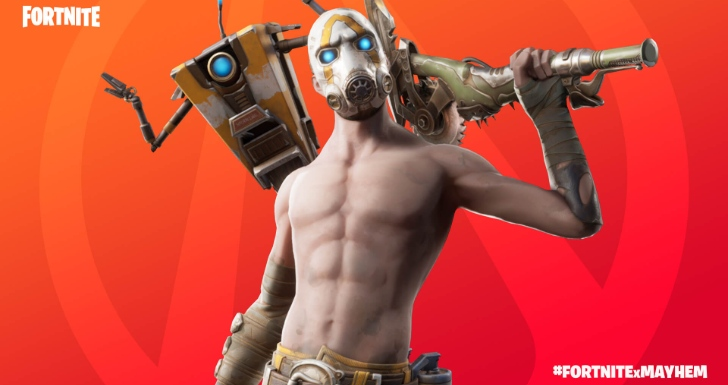 Fortnite borderlands 3