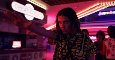 Stranger Things 4 anúncio
