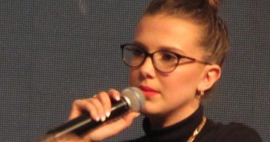 Millie Bobby Brown na Comic Con