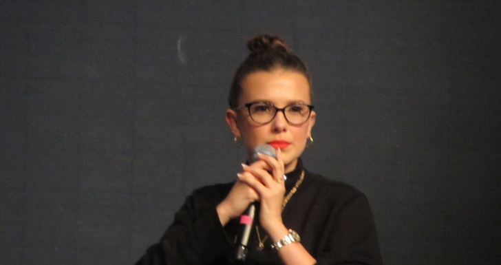 Millie Bobby Brown Comic Con 19