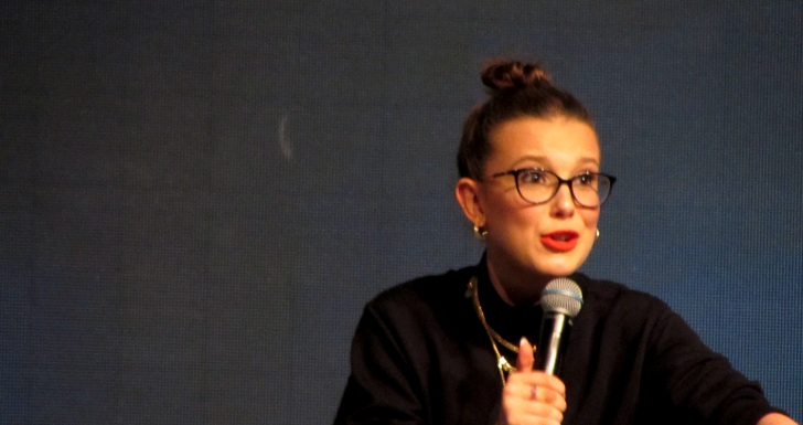 Millie Bobby Brown Comic Con Portugal