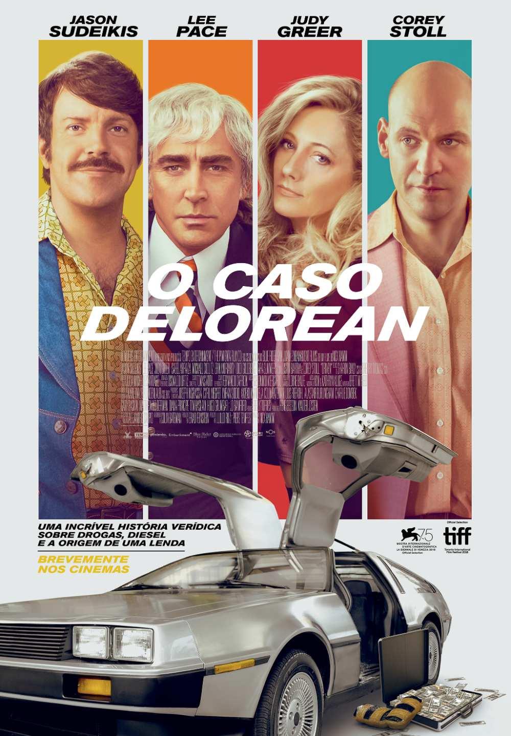 O Caso Delorean poster pt