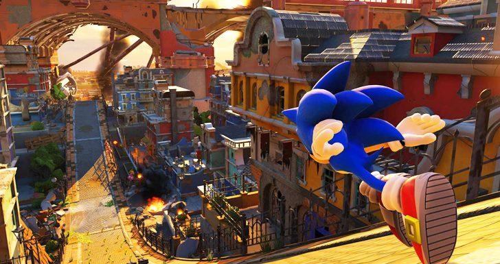Sonic Square Enix Sega