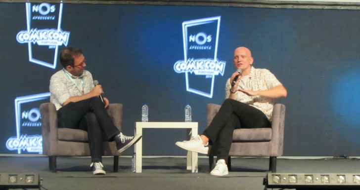 Anthony Carrigan na Comic Con Portugal !