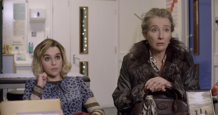 Emilia Clarke e Emma Thompson