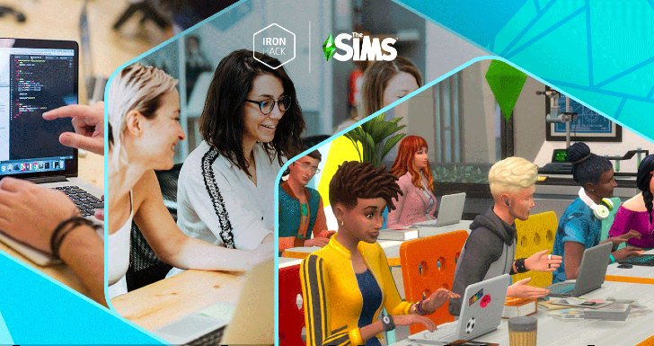 Ironhack & The Sims