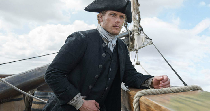 Sam Heughan | © Starz Entertainment