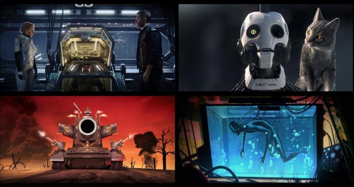 Renovações e cancelamentosLove, Death & Robots