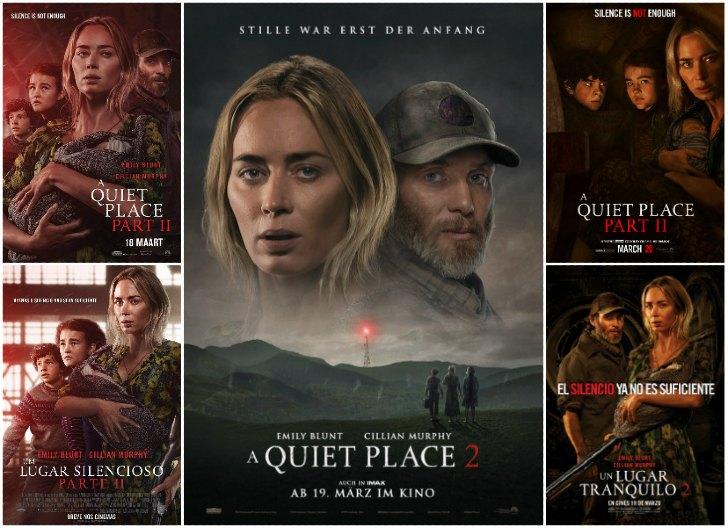 um lugar silencioso 2 poster