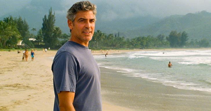 """filmes na tv George Clooney em """"Os Descendentes"""""""
