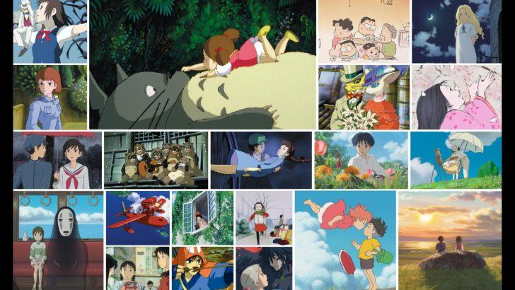 Hayao Miyazaki and Ghibli montage