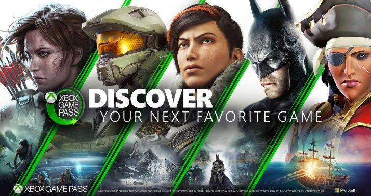 Xbox Game Pass 2019
