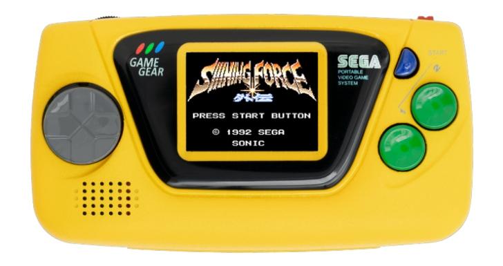 Game Gear Micro Amarelo