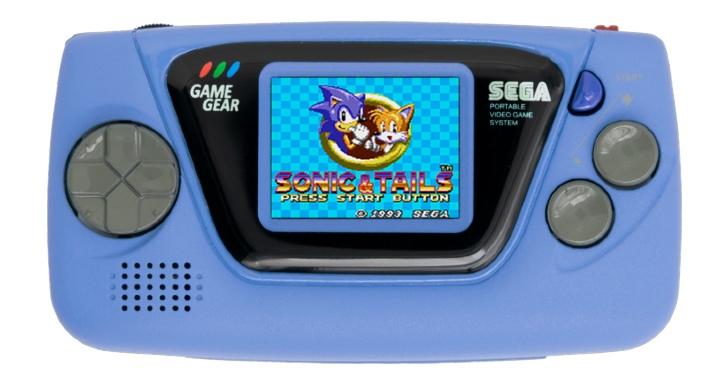 Game Gear Micro Azul