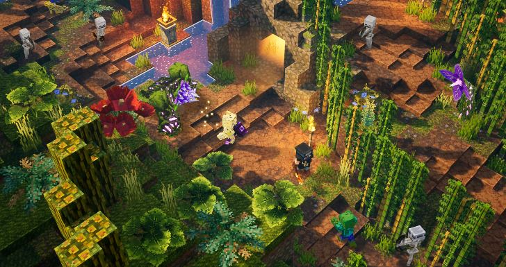 Minecraft Dungeons Jungle Awakens Screenshot