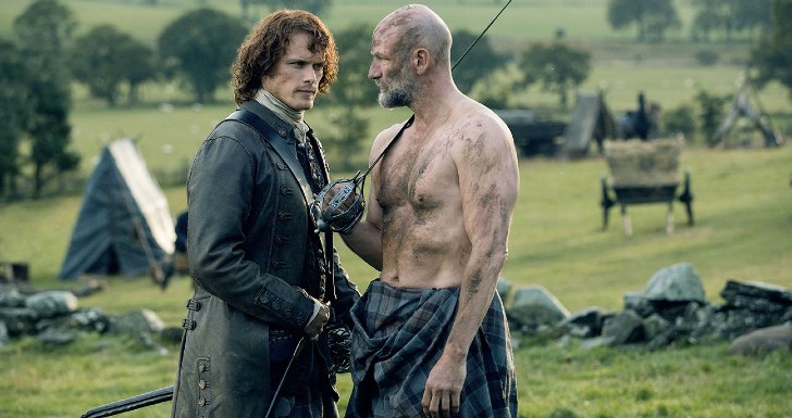 sam heughan graham mactavish outlander