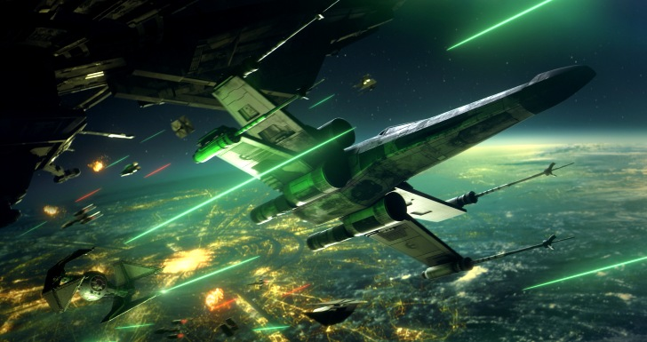 Star Wars Squadrons Starfighters