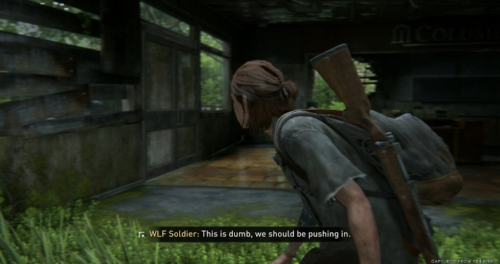 The Last of Us Part II Acessibilidade Audio