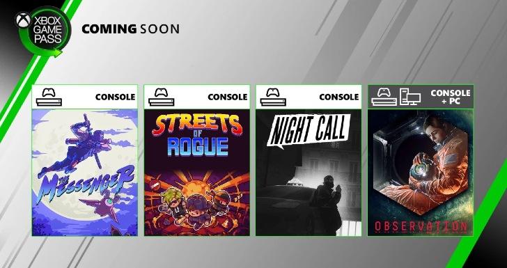 Xbox Game Pass Junho 2 2020