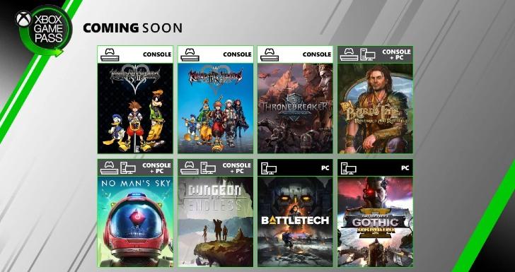 Xbox Game Pass Junho 2020