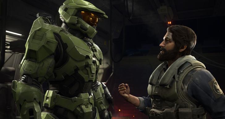 Halo Infinite Chief and Pilot