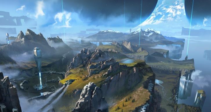 Halo Infinite Concept Art