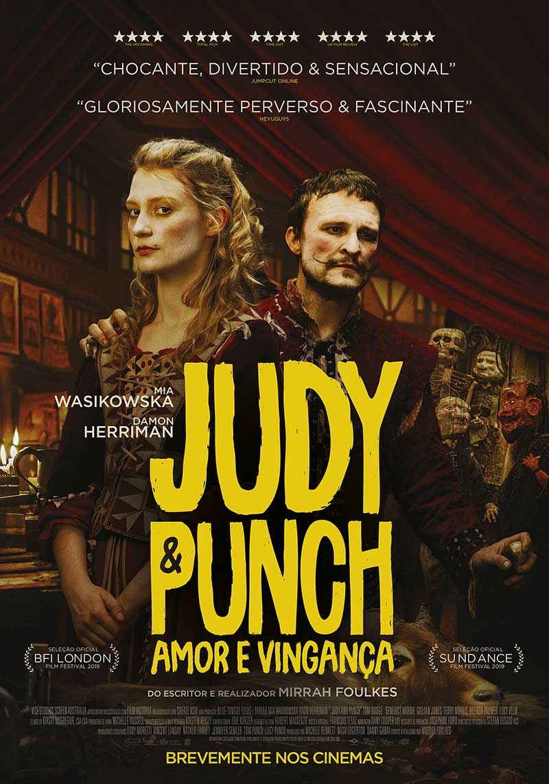 judy & punch poster pt