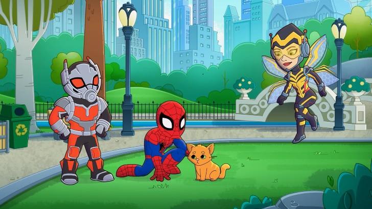 Marvel Super Heróis Kids