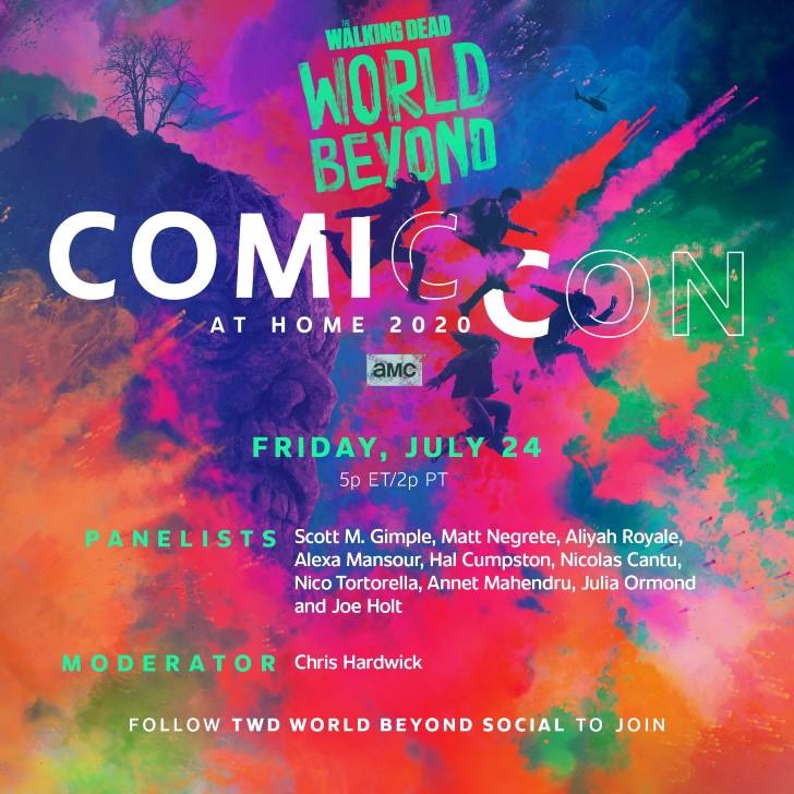 TWD World Beyond - Comic Con