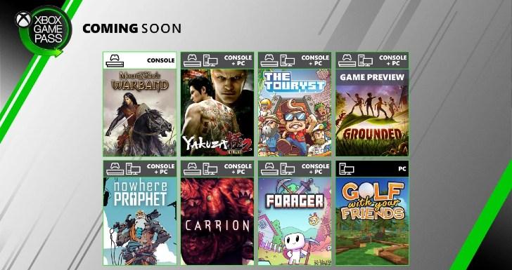 Xbox Game Pass Fim Julho 2020