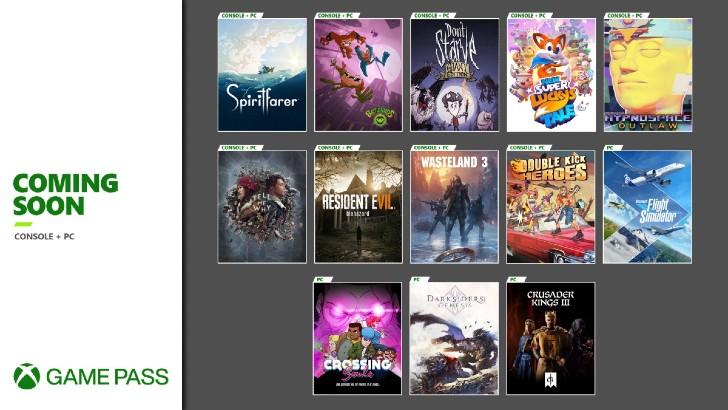 Xbox Game Pass Agosto Setembro 2020