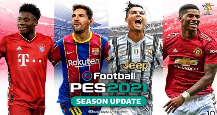 PES 2021 season update