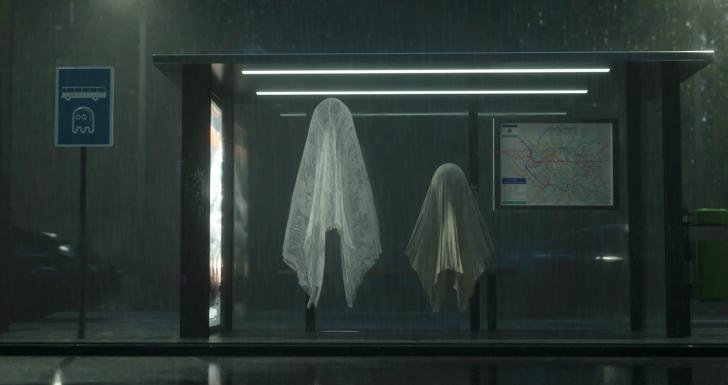 ghostown curta animacao