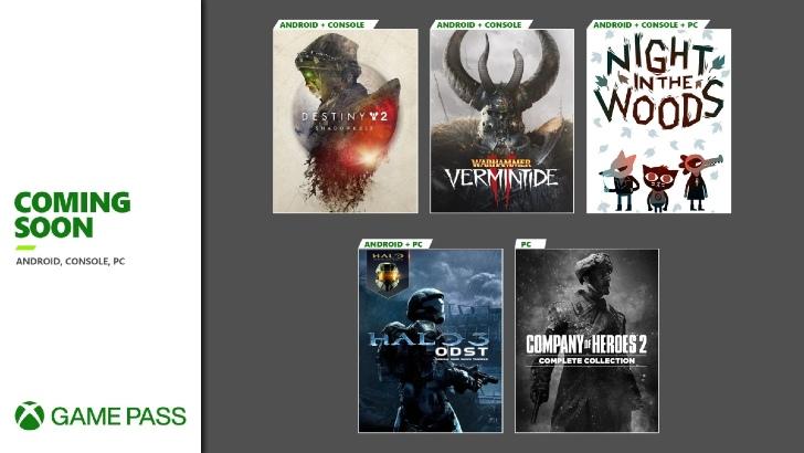 Xbox Game Pass – 2º Setembro 2020