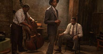 "Chadwick Boseman, em ""Ma Rainey's Black Bottom"", da © Netflix"