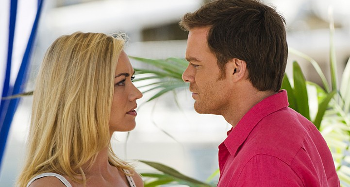 Dexter Michael C. Hall and Yvonne Strahovski