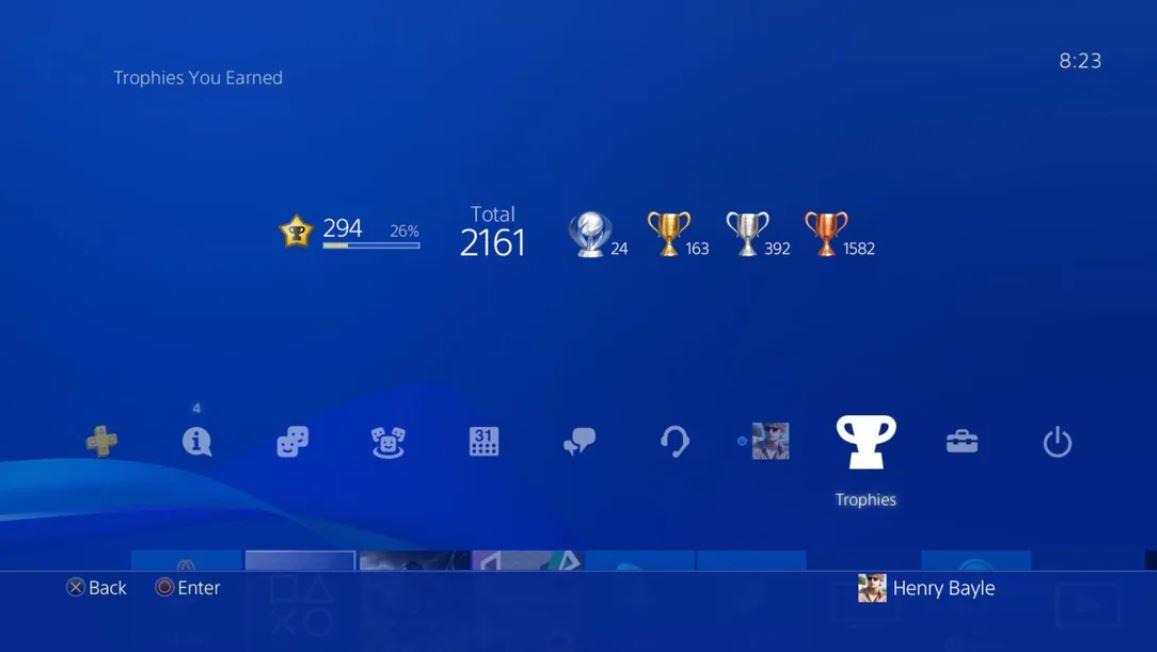 Trofeus Sony Playstation 2