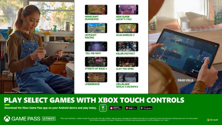 Xbox Cloud Gaming Touch Controls Banner
