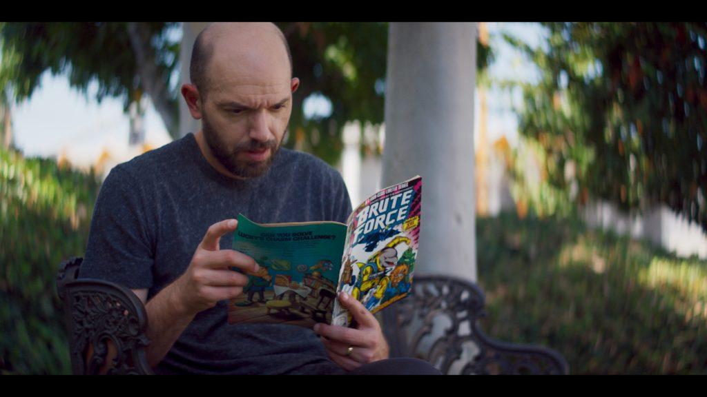 Paul Scheer foi um dos realizadores da Marvel 616