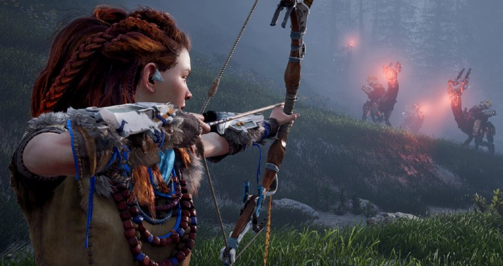 MHD Horizon Zero Dawn PlayStation Now