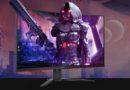 AOC curved monitor