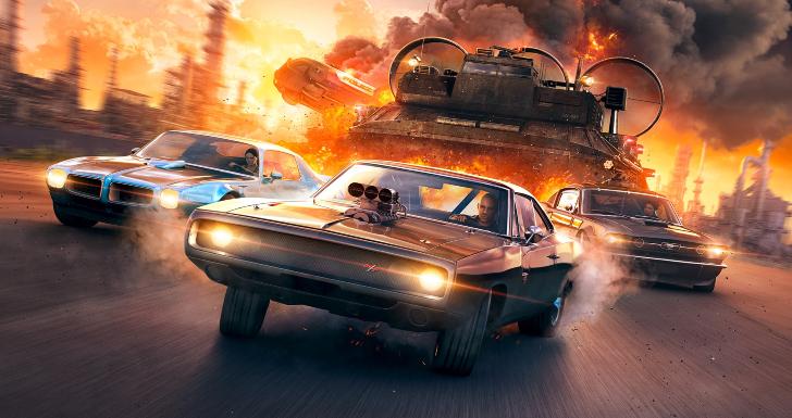 Fast & Furious Crossroads Capa