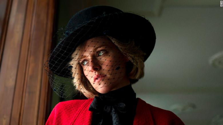 Kristen Stewart como Diana © 2021 - Courtesy of Pablo Larraín