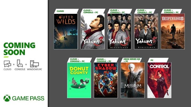 Xbox Game Pass – Fim Janeiro 2021