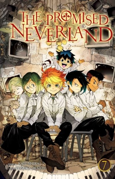 The Promised Neverland 07-cover